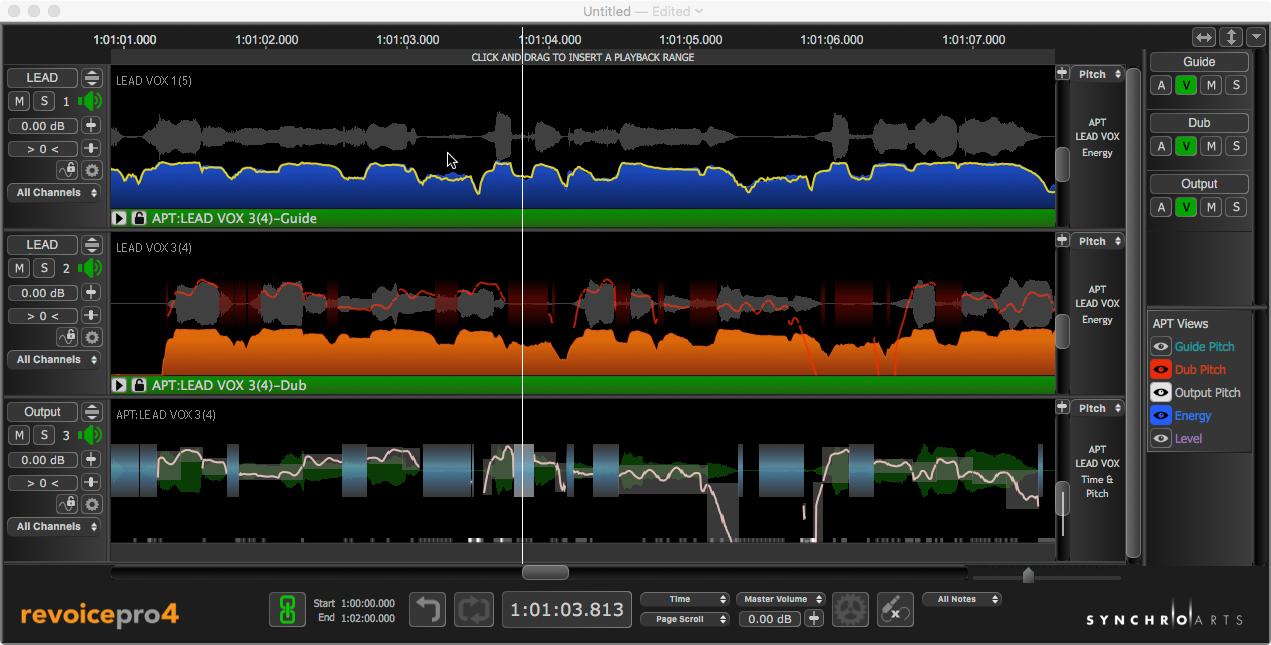 音高时值修正软件