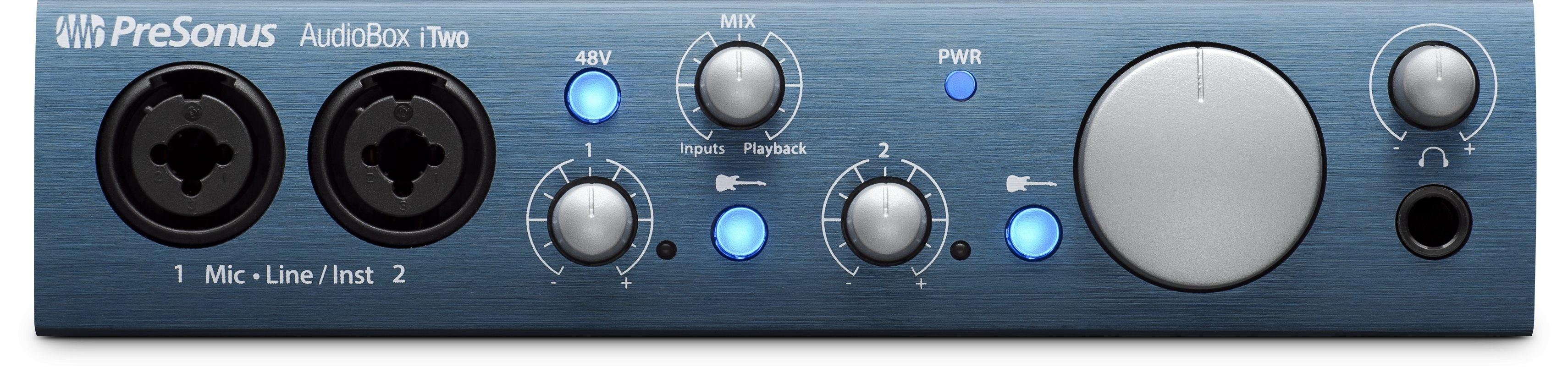 2进2出USB 2.0 24Bit/96kHz 音频接口
