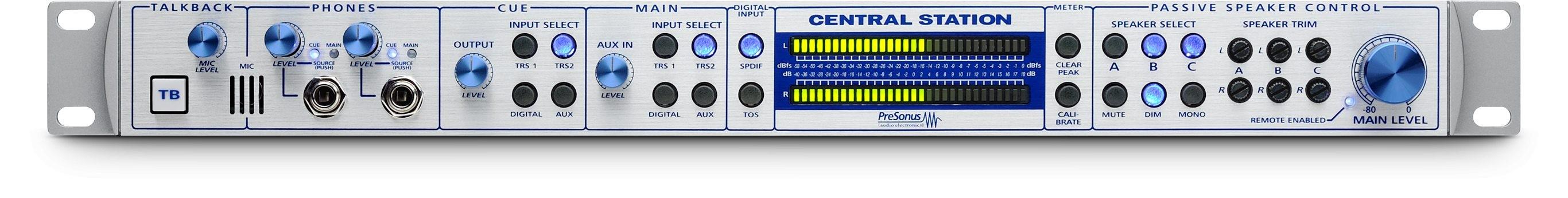 机架式多组监听控制中心,带遥控功能