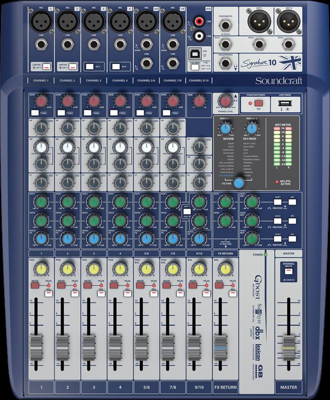 录音级模拟调音台
