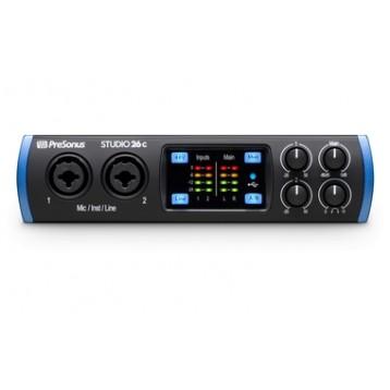 2进4出USB 2.0 24Bit/192kHz 音频接口