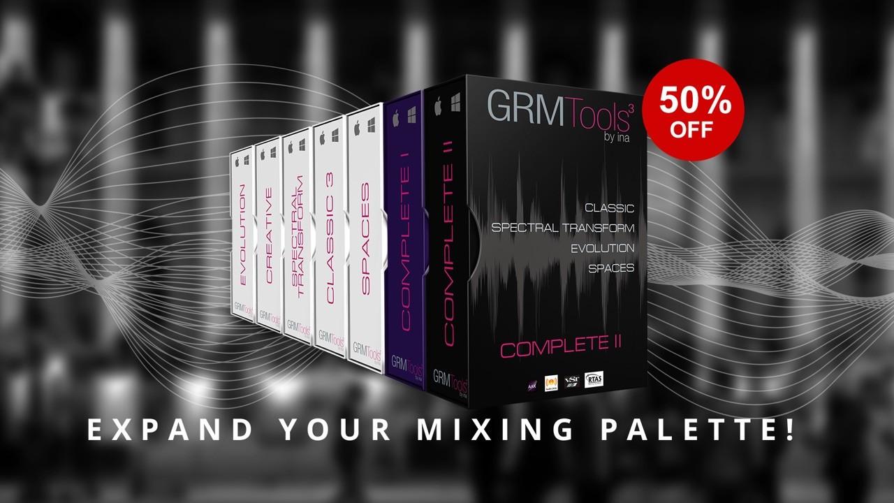 声音设计、空间塑造软件 - GRM Tools 50% 优惠