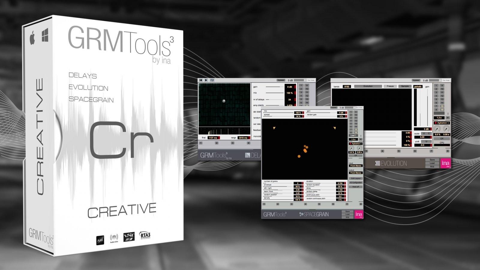 GRM Tools,Flux,AudioSourceRE 产品促销