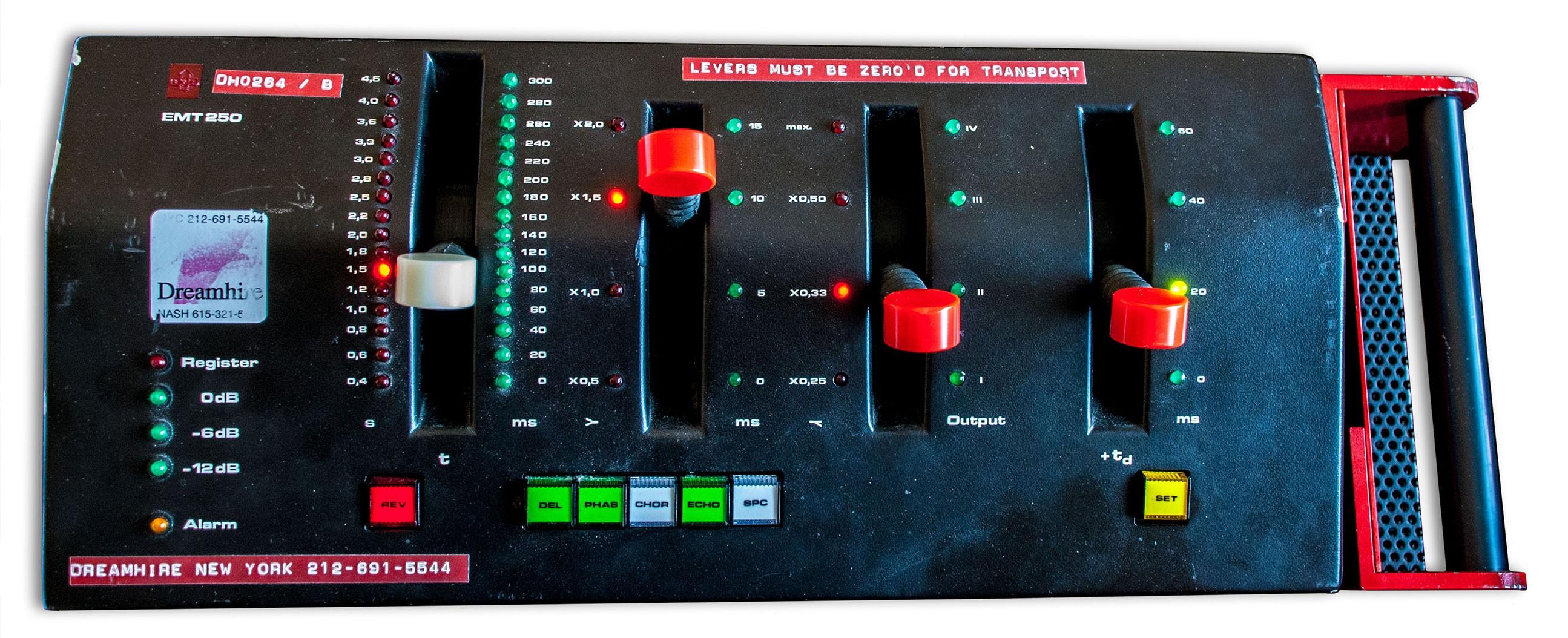 Altiverb 7 增加 EMT250 混响采样