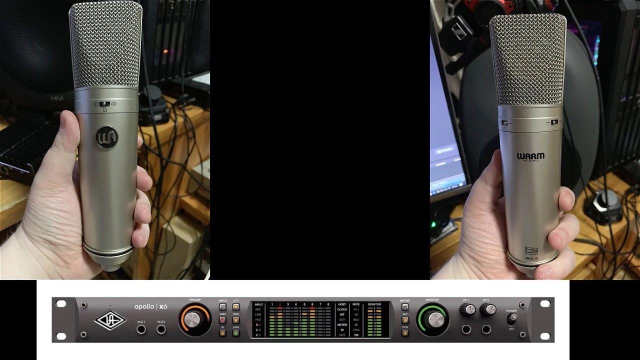 纽曼U87Ai,纽曼TLM107,WA87话筒对比试听测试