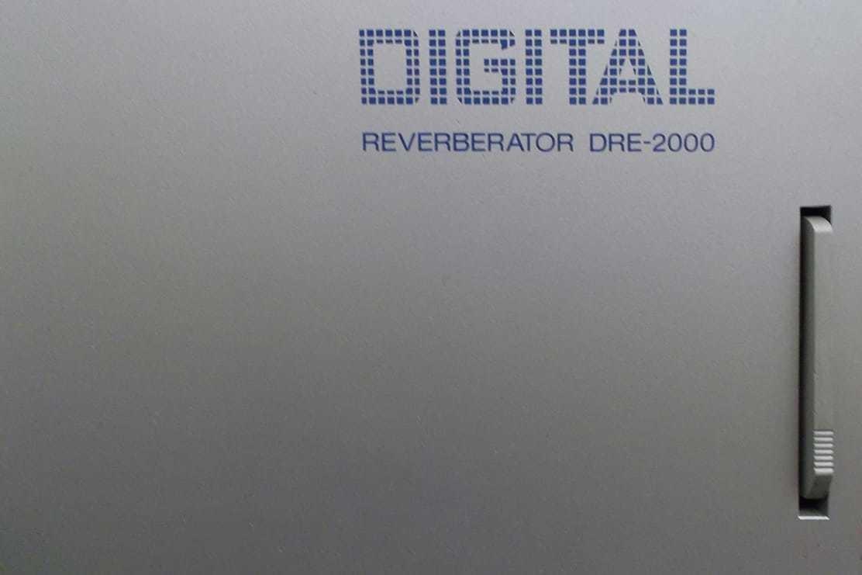 Altiverb 7 DRE 2000:1980年代的数字混响