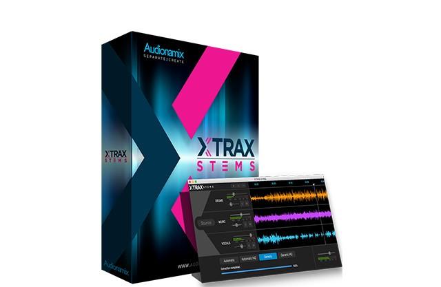 XTRAX STEMS演示:音频分轨提取