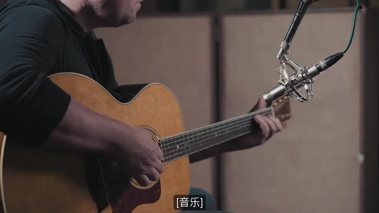 视频 原声吉它录音话筒音色对比