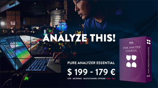 Flux Pure  Analyzer  音频分析仪,Time Limited Offer !