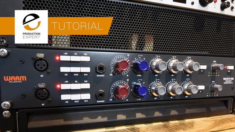 使用WA273-EQ从单声道信号创建立体声声相