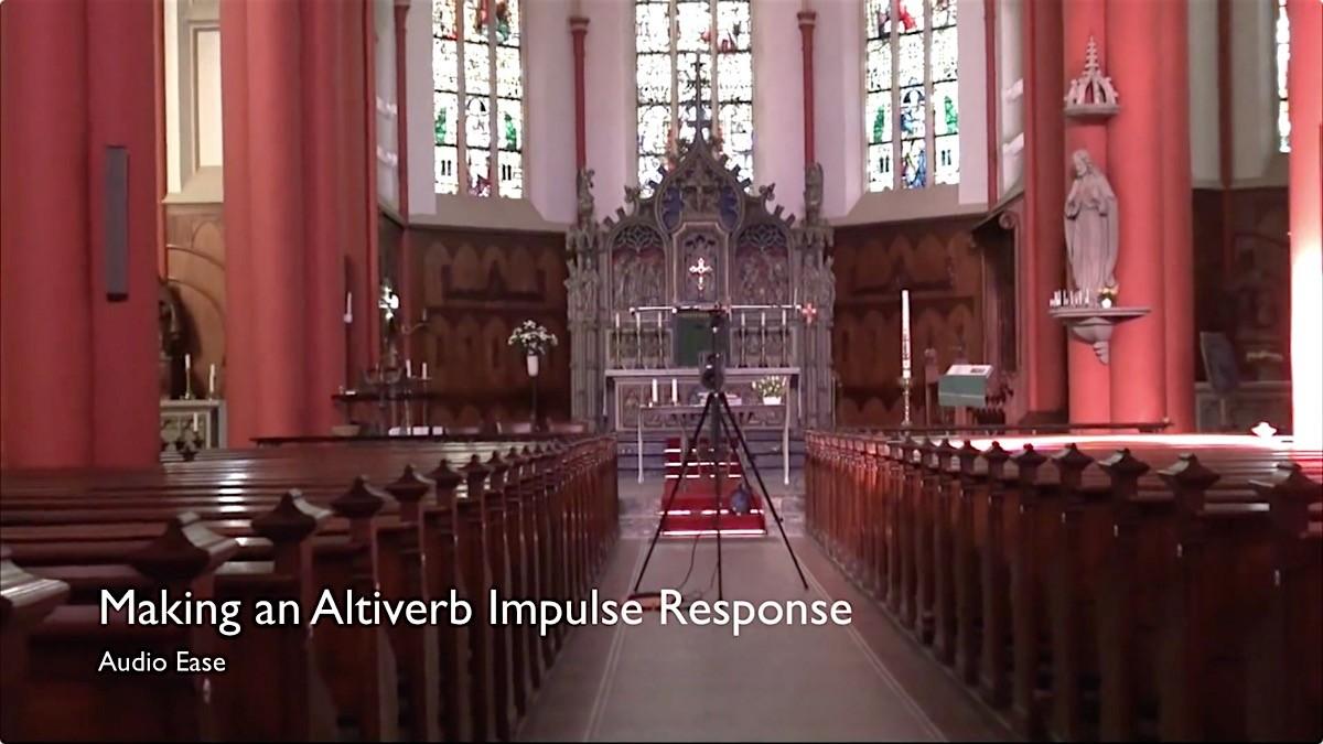 如何用Altiveb 7采样自己喜欢的声学空间