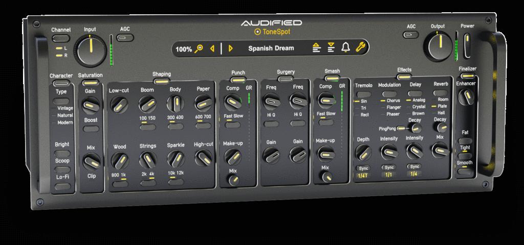雕琢拨弦乐器的最佳音色 - Audified发布ToneSpot Acoustic Pro