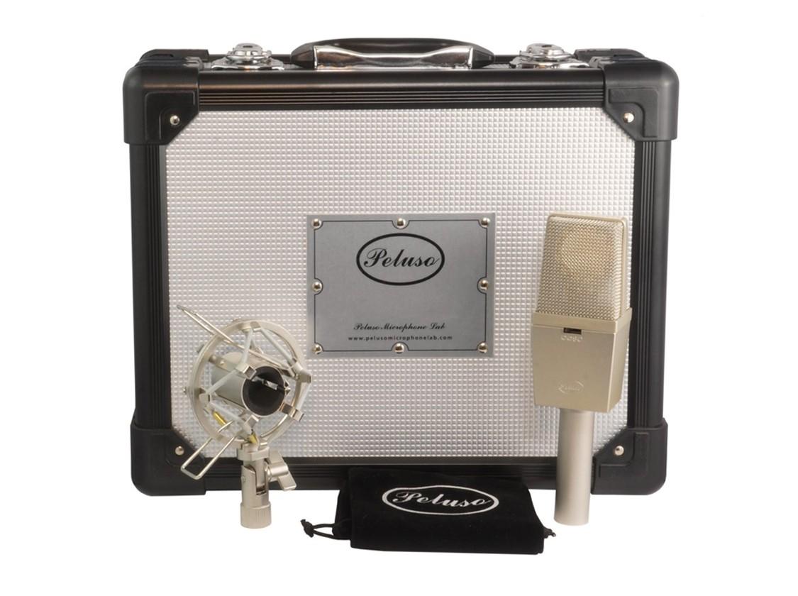 简评:从复古音色中获取灵感 Peluso P 414 电容话筒