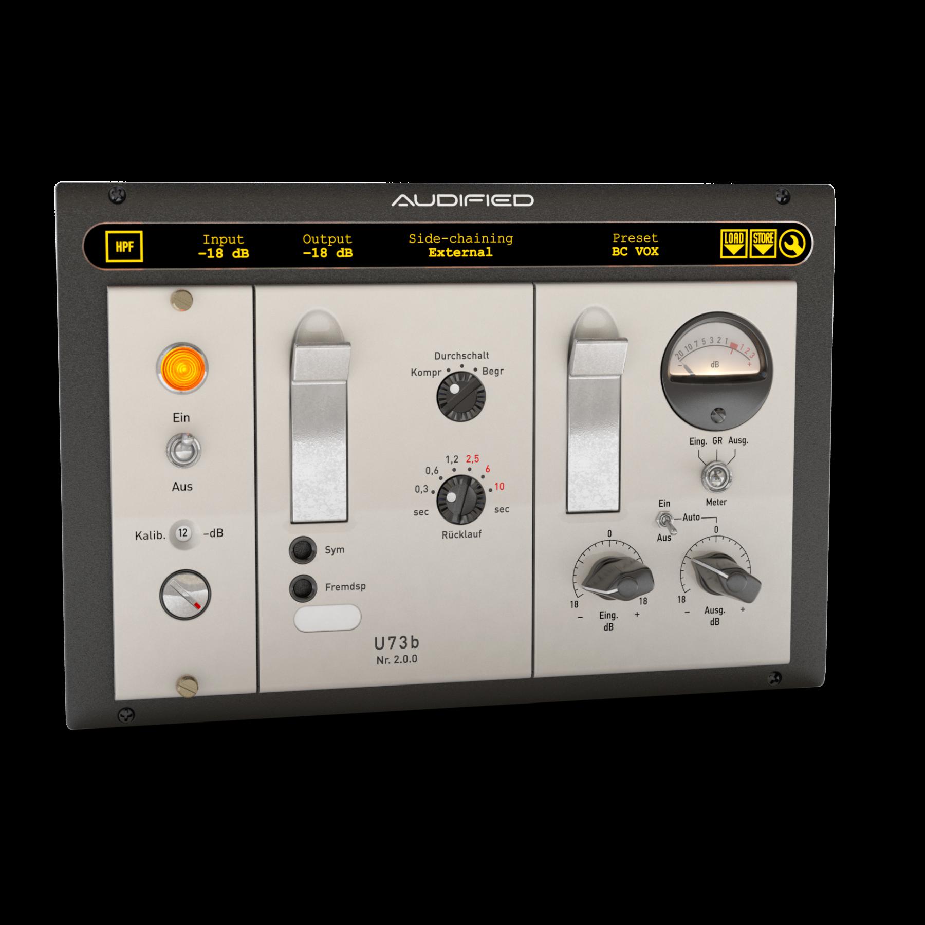 Audified U73b 压缩器演示