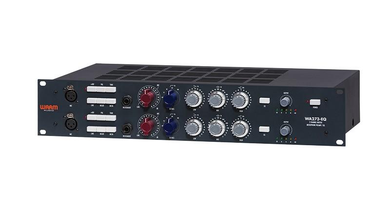Warm AudioWA273-EQ:一款出色的全能麦克风前置放大器