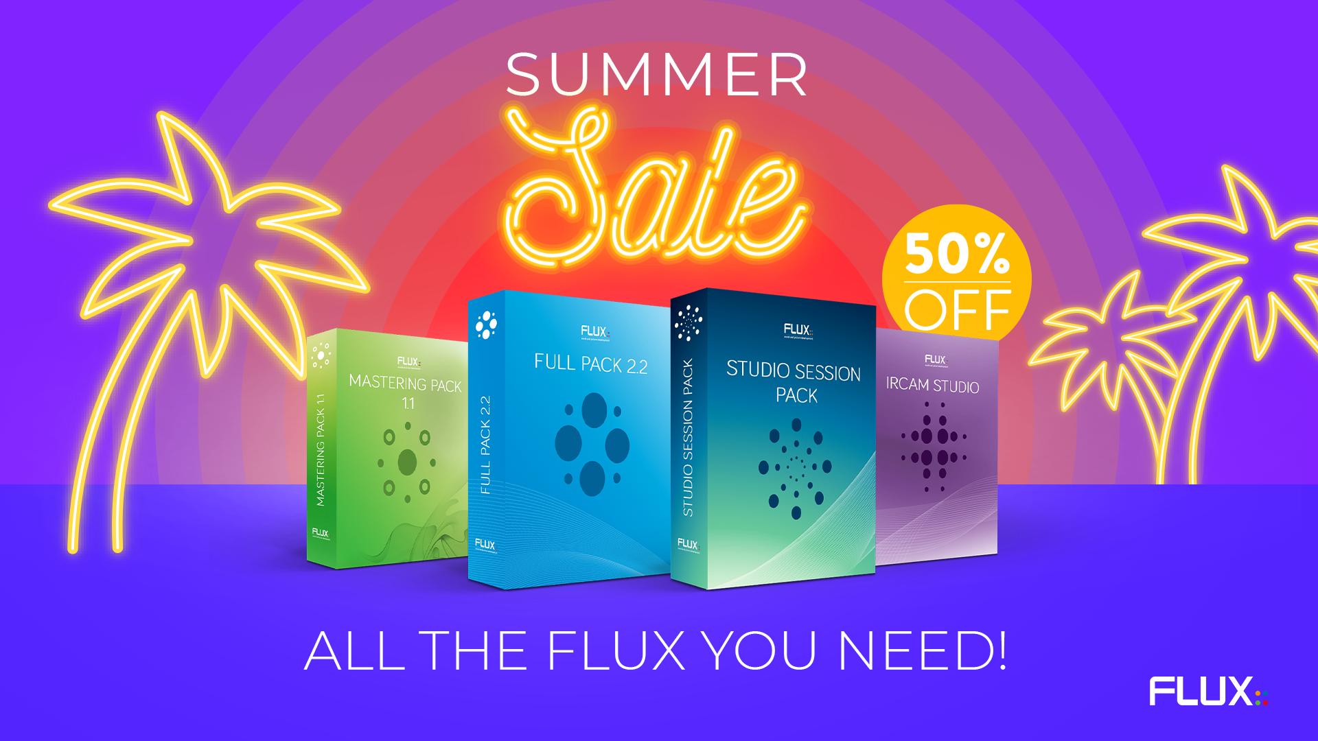 Flux 插件暑期套餐促销!
