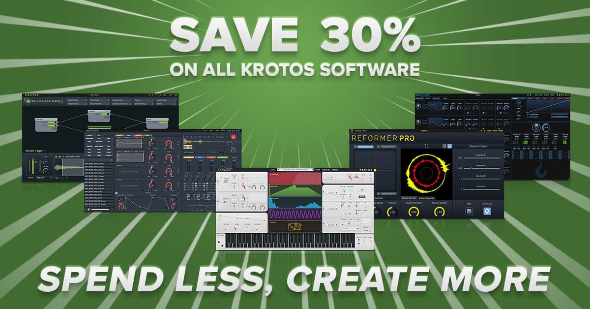 声音设计软件 Krotos 春天促销