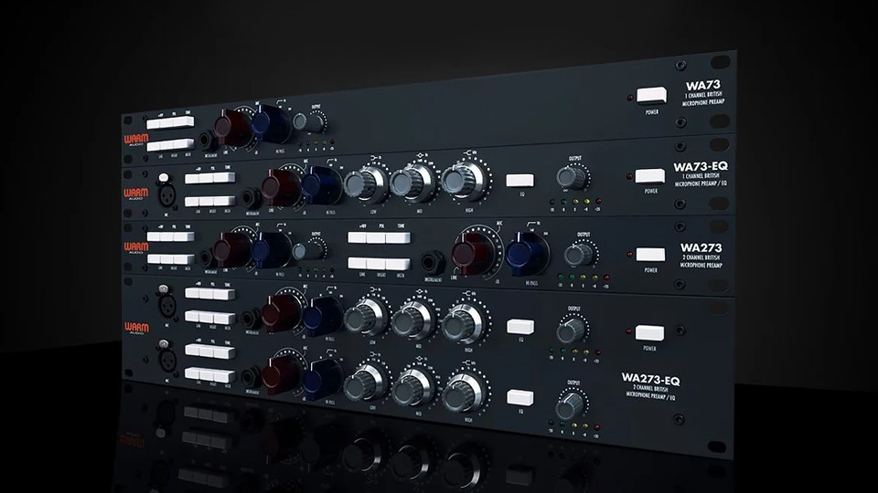 Mixdown评测:Warm Audio WA73-EQ