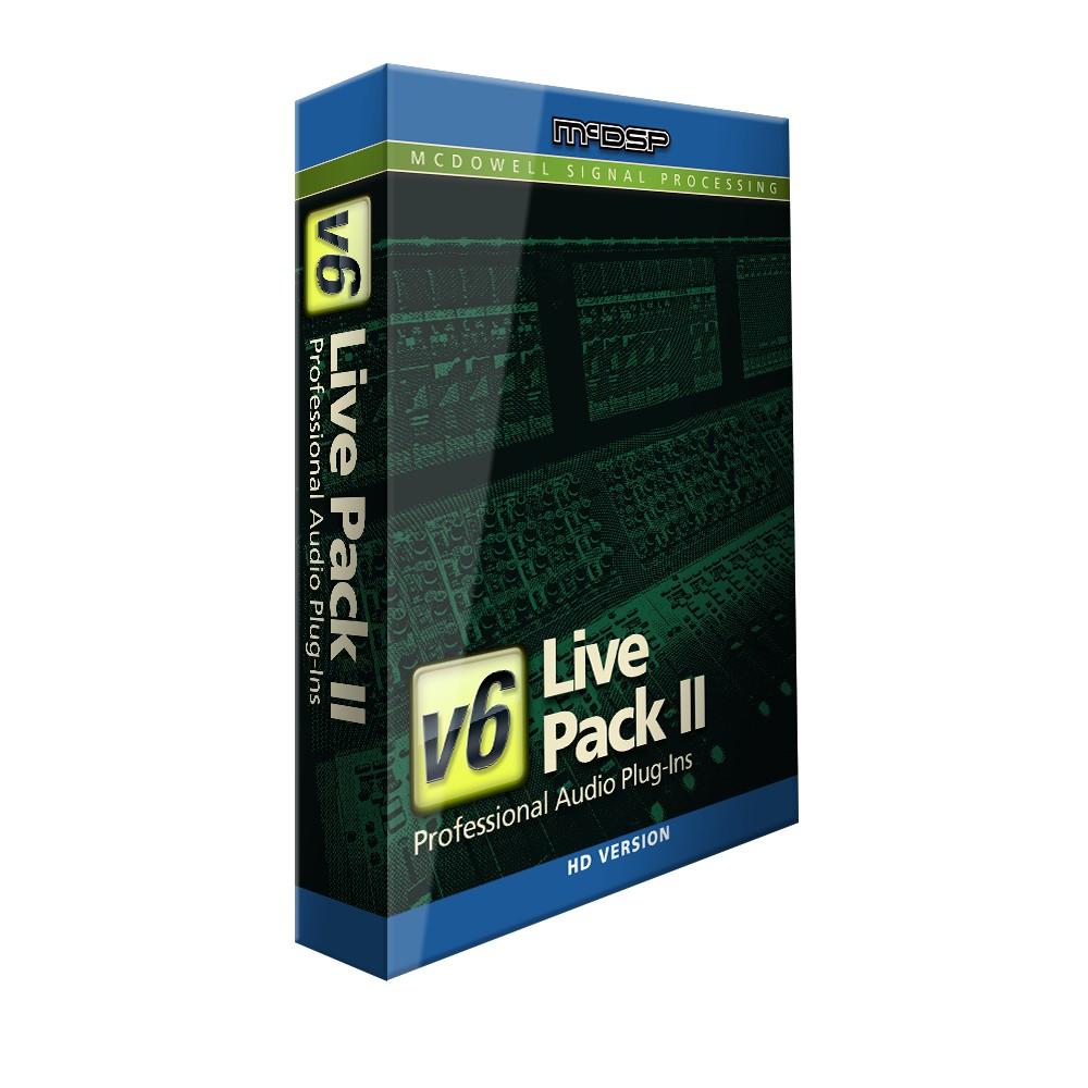 新品:McDSP Live Pack II 现场扩声插件