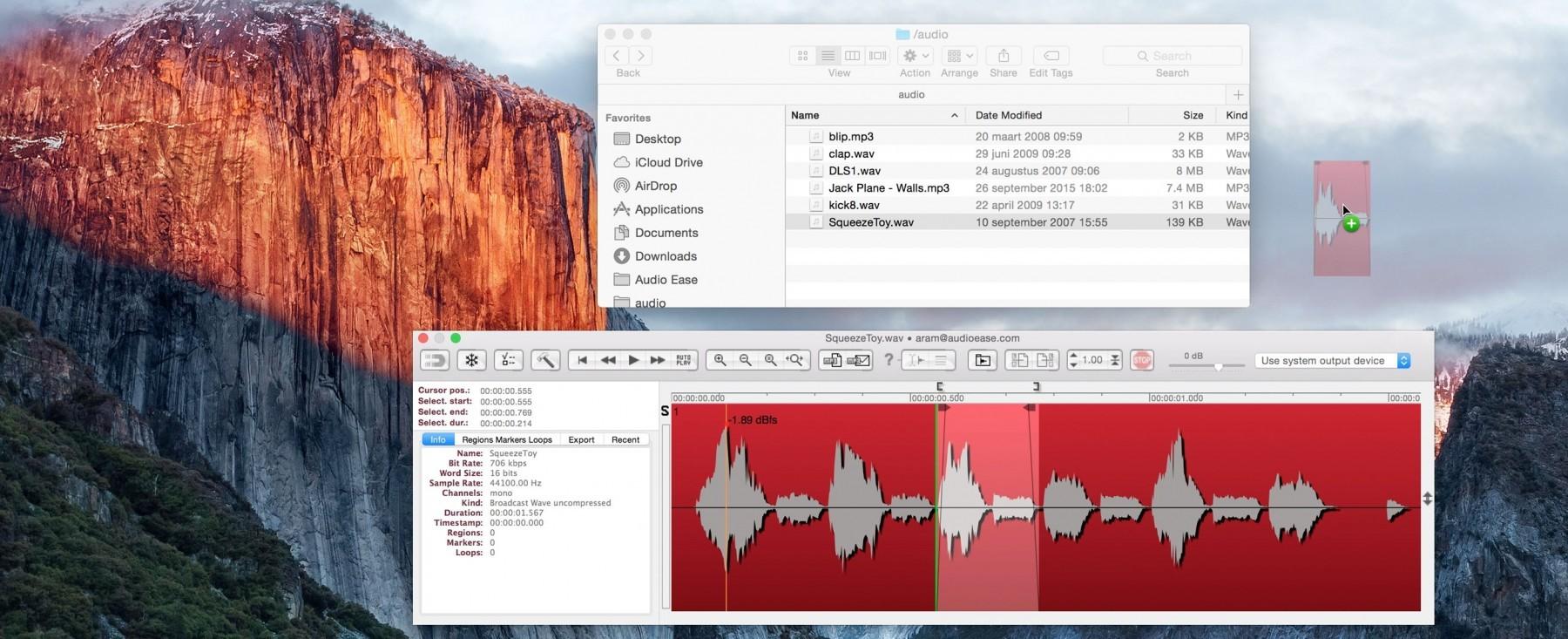 Audio Ease 音频助理软件 Snapper 2 演示