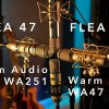 Flea vs. Warm Audio:话筒对比