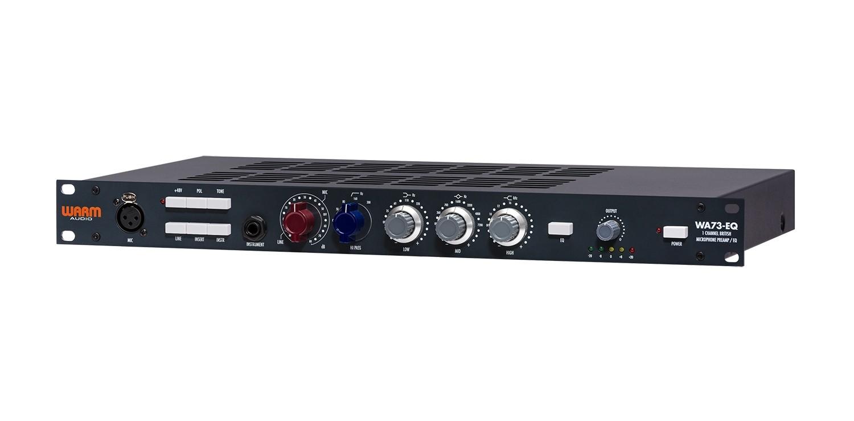 《Mix down》评测Warm Audio WA73EQ 麦克风前置放大器