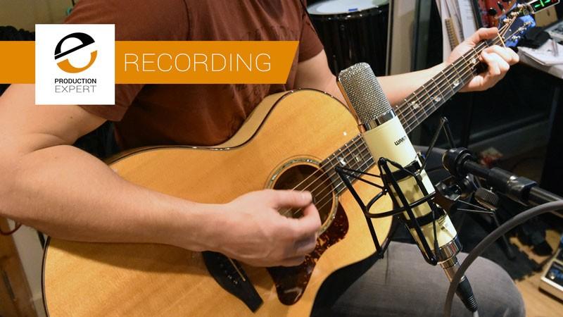 使用Warm Audio WA-251电子管麦克风录制原声吉他