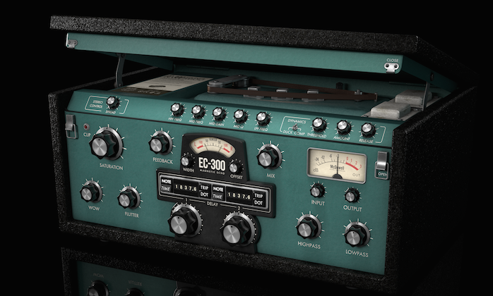 McDSP EC300 - 磁力回声演示