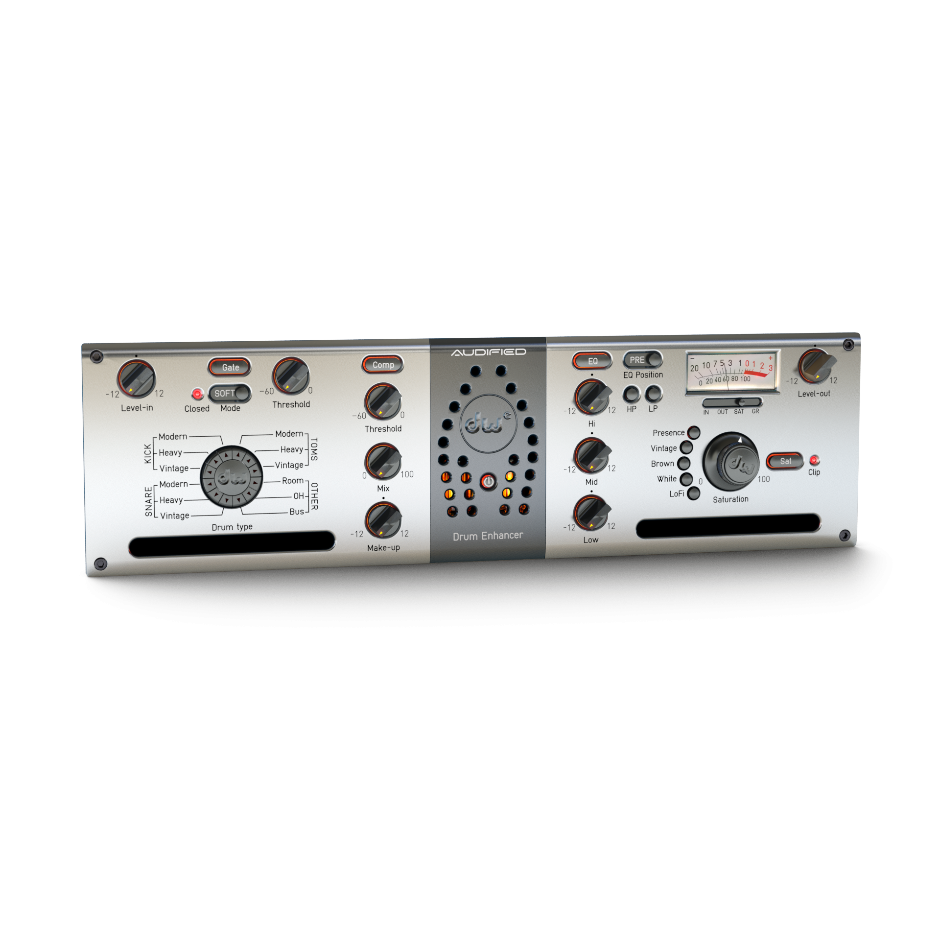 DW Drum Enhancer:全能型鼓组处理工具