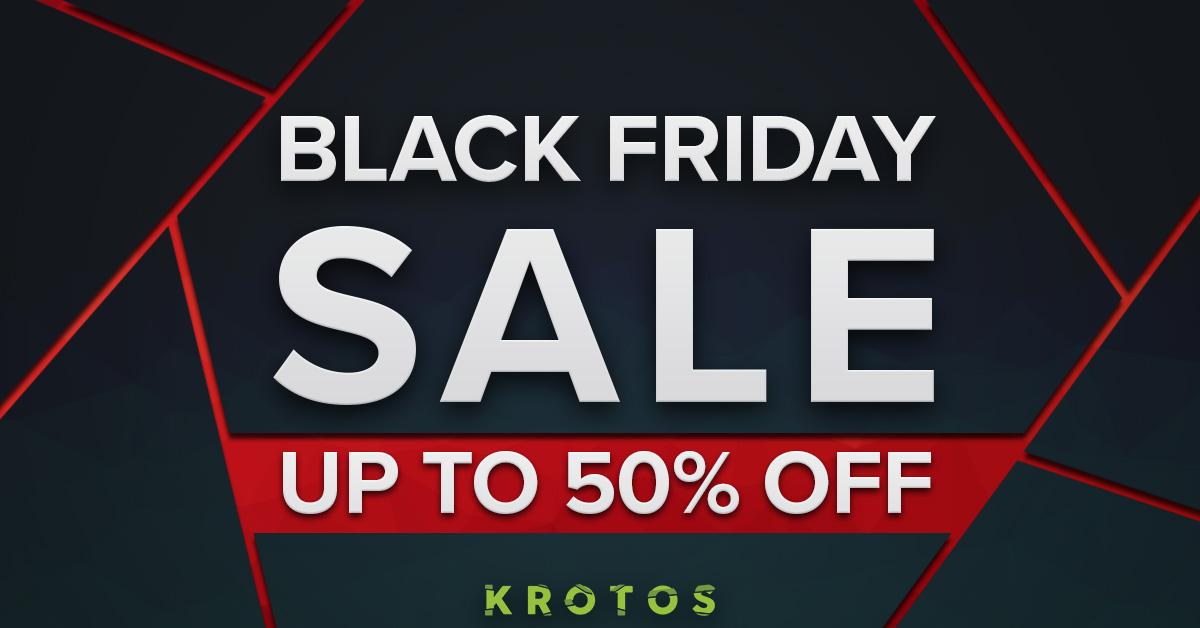 声音设计软件 Krotos Audio 黑五促销活动